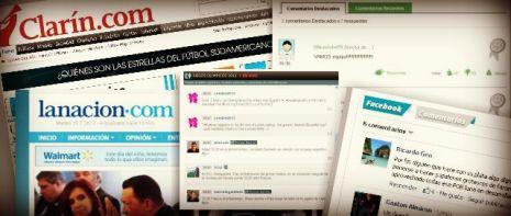 participación de lectores en diarios digitales