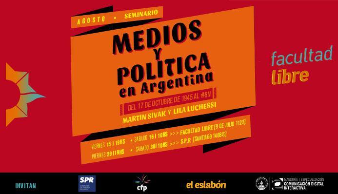 medios y politica